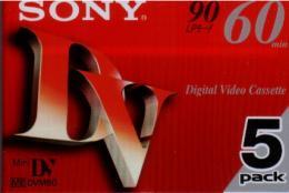 เทปมินิดีวี SONY MDV