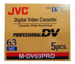 ม้วนเทป JVC M-DV63PRO
