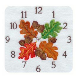 นาฬิกาลายปัก CK-A1719