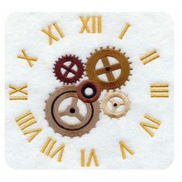 นาฬิกาลายปัก CK-G1452