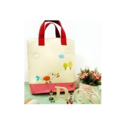 กระเป๋าผ้าปักลาย KR_Bag07