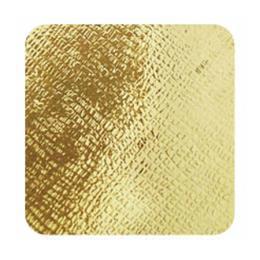 กระดาษแผ่นเรียบฟอยล์ลายหนัง สีทอง