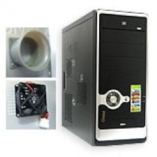 เคสคอมพิวเตอร์  GVIEW Focus C-5080 (Black-Silver)