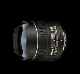 เลนส์กล้องถ่ายรูป AF DX Fisheye 10.5 f/2.8G ED