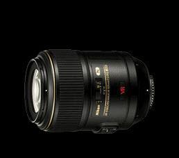 เลนส์กล้องถ่ายรูป AF-S VR Micro 105 f/2.8G IF-ED