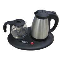 กาต้มน้ำร้อนพร้อมตัวกรองชา และตัวอุ่นร้อน รุ่น KA4
