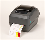 เครื่องพิมพ์บาร์โค้ด Zebra GX430t thermal transfer printer Specs Resolution 300 dpi (12 dots/mm)