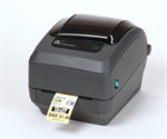 เครื่องพิมพ์บาร์โค้ด Zebra GK420t thermal transfer printer Specs Resolution 203 dpi (8 dots/mm) Widt