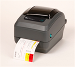 เครื่องพิมพ์บาร์โค้ด Zebra GX430t thermal transfer printer Specs Resolution 300 dpi (12 dots/mm) Wid