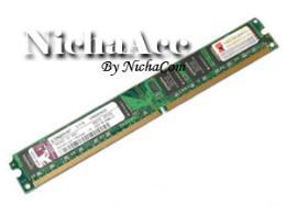 หน่วยความจำแรม DDR2(800) 2GB. Kingston