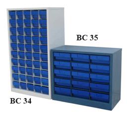 ตู้ใส่กล่องอะไหล่ รุ่น BC34-35