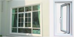 หน้าต่างบานเปิด  รุ่น SSlim Style -MCM50