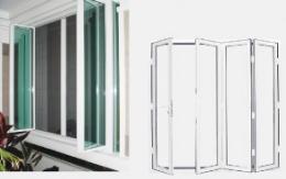 ประตูหน้าต่างบานเฟี้ยม รุ่น Slim Style-MFD25