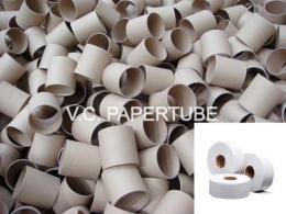 แกนกระดาษทิชชู่ ผลิตจากกระดาษรีไซเคิล