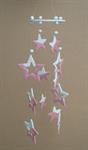 โมบายเซรามิค Wind Chimes 4017 (4 rows) Star