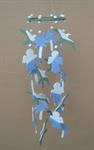 โมบายเซรามิค Wind Chimes 4017 (8 rows) Palm / Bird / Doll
