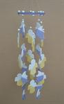 โมบายเซรามิค Wind Chimes 4017 (8 rows) Doll / Moon