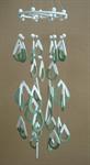 โมบายเซรามิค Wind Chimes 4017 (2 rings) Diamond
