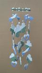 โมบายเซรามิค Wind Chimes 4017 (8 rows) Doll / Heart / Tree