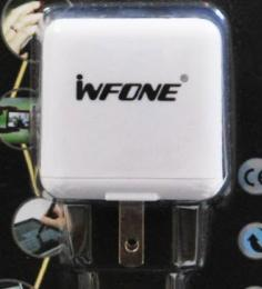 แท่นชาร์จ Infone USB Charger 2 port