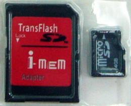 การ์ดความจำ Infone Micro SD 4Gb.