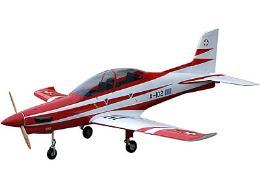 เครื่องบินรบ PC21 (E) - (Red/White)