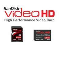 การ์ดความจํา  Ultra II VideoHD MSPD