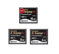 การ์ดความจํา Extreme IV CF 4GB, 45MBs/300x