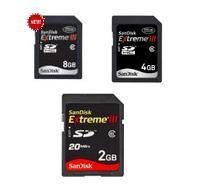 การ์ดความจํา Extreme® III SD™ & SDHC™ Cards