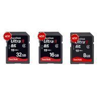 การ์ดความจํา  Ultra® II SD™ and SDHC™ Cards