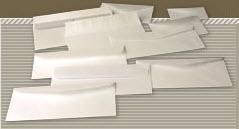 ซองขาวใส่การ์ด (114 x 162 มม.) 100 แกรม