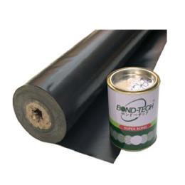 พลาสติก PVC ปูบ่อสีดำ