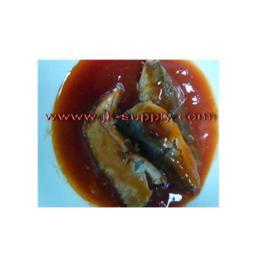 ปลากระป๋อง canned mackerel in tomato sauce