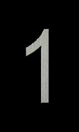 ตัวเลขสแตนเลส 1