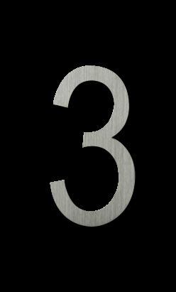 ตัวเลขสแตนเลส 3
