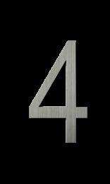 ตัวเลขสแตนเลส 4