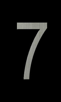 ตัวเลขสแตนเลส 7
