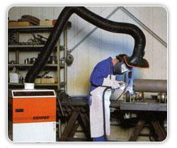 เครื่องดูดควัน Electrostatic filter units, mobile