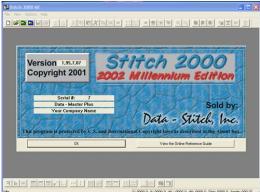 โปรแกรมออกแบบลายปัก stitch 2000