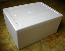 กล่องโปลิโฟมขนาดจุ 25 ก.ก.