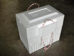กล่องโปลิโฟมปิกนิกมีหูหิ้ว รุ่นทรงสูง