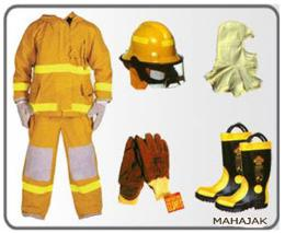 ชุดพนักงานดับเพลิง