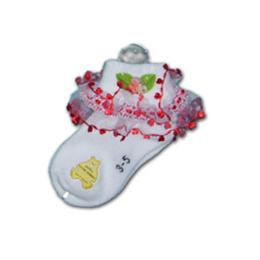ถุงเท้าเด็ก » ลายลูกไม้ 3-5 001