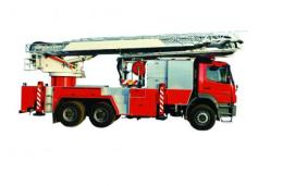 รถยนต์ดับเพลิงชนิดหอน้ำพร้อมบันได 0019