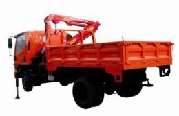 รถบรรทุกติดตั้งเครนไฮดรอลิค