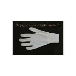 ถุงมือผ้าไนลอนติดข้อ