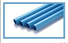 ท่อน้ำ PVC สีฟ้า