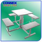 ชุดโต๊ะ - เก้าอี้ Model 524