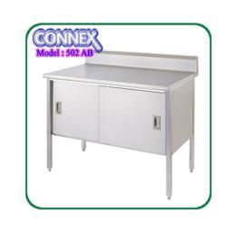 โต๊ะแสตนเลส MODEL 502 AB