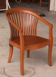 เก้าอี้อาร์มแชร์ ไม้สัก